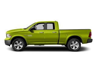 National Safety Yellow 2015 Ram Truck 1500 Pictures 1500 Quad Cab SLT 4WD photos side view