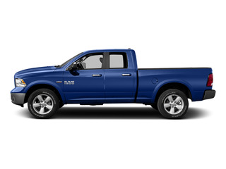 Blue Streak Pearlcoat 2015 Ram Truck 1500 Pictures 1500 Quad Cab Laramie 2WD photos side view