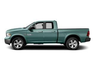 Light Green 2015 Ram Truck 1500 Pictures 1500 Quad Cab Express 4WD photos side view