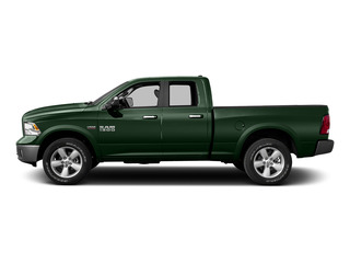 Timberline Green Pearlcoat 2015 Ram Truck 1500 Pictures 1500 Quad Cab Express 4WD photos side view