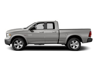 Bright Silver Metallic Clearcoat 2015 Ram Truck 1500 Pictures 1500 Quad Cab Laramie 2WD photos side view