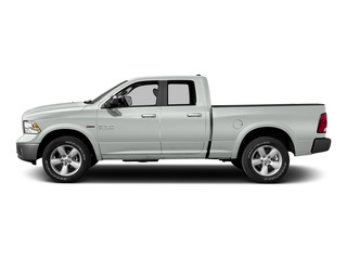 Bright White Clearcoat 2015 Ram Truck 1500 Pictures 1500 Quad Cab Laramie 2WD photos side view