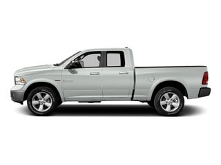 Bright White Clearcoat 2015 Ram Truck 1500 Pictures 1500 Quad Cab SLT 2WD photos side view
