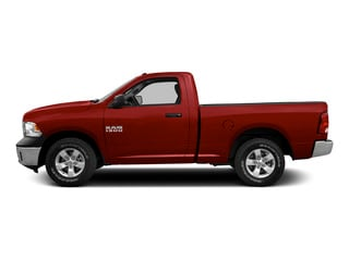 Bright Red 2015 Ram Truck 1500 Pictures 1500 Regular Cab SLT 2WD photos side view