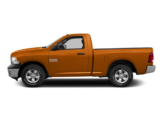 Omaha Orange 2015 Ram Truck 1500 Pictures 1500 Regular Cab SLT 2WD photos side view