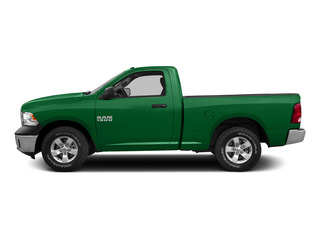 Bright Green 2015 Ram Truck 1500 Pictures 1500 Regular Cab SLT 2WD photos side view