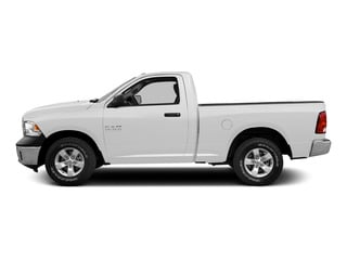 Bright White Clearcoat 2015 Ram Truck 1500 Pictures 1500 Regular Cab Sport 4WD photos side view