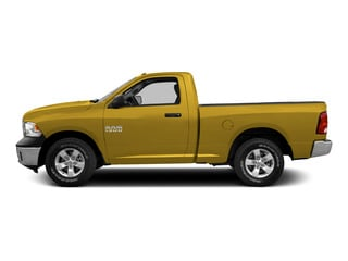 Detonator Yellow Clearcoat 2015 Ram Truck 1500 Pictures 1500 Regular Cab SLT 2WD photos side view