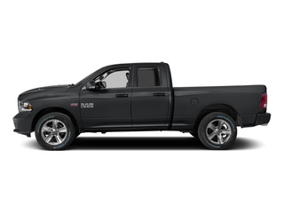Granite Crystal Metallic Clearcoat 2015 Ram Truck 1500 Pictures 1500 Quad Cab Sport 2WD photos side view