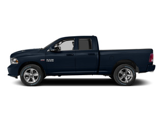 True Blue Pearlcoat 2015 Ram Truck 1500 Pictures 1500 Quad Cab Sport 2WD photos side view