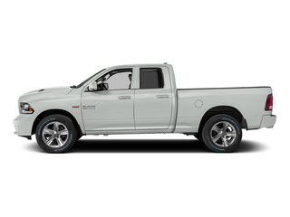 Bright White Clearcoat 2015 Ram Truck 1500 Pictures 1500 Quad Cab Sport 2WD photos side view