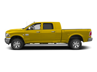 Yellow 2015 Ram Truck 2500 Pictures 2500 Mega Cab SLT 2WD photos side view