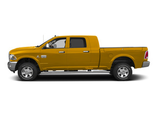 Construction Yellow 2015 Ram Truck 2500 Pictures 2500 Mega Cab SLT 2WD photos side view