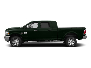 Black Forest Green Pearlcoat 2015 Ram Truck 2500 Pictures 2500 Mega Cab SLT 2WD photos side view