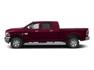 Deep Cherry Red Crystal Pearlcoat 2015 Ram Truck 2500 Pictures 2500 Mega Cab Limited 2WD photos side view