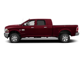 Deep Cherry Red Crystal Pearlcoat 2015 Ram Truck 2500 Pictures 2500 Mega Cab SLT 2WD photos side view
