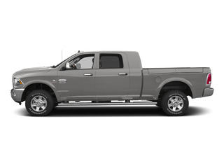 Bright Silver Metallic Clearcoat 2015 Ram Truck 2500 Pictures 2500 Mega Cab Limited 2WD photos side view