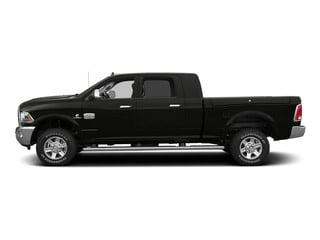 Black Clearcoat 2015 Ram Truck 2500 Pictures 2500 Mega Cab SLT 2WD photos side view