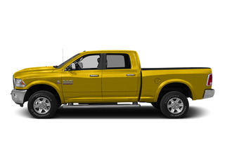 Yellow 2015 Ram Truck 2500 Pictures 2500 Crew Cab SLT 2WD photos side view