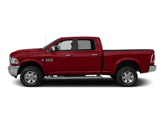 Flame Red Clearcoat 2015 Ram Truck 2500 Pictures 2500 Crew Cab SLT 2WD photos side view