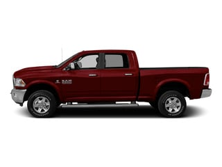 Deep Cherry Red Crystal Pearlcoat 2015 Ram Truck 2500 Pictures 2500 Crew Cab SLT 2WD photos side view