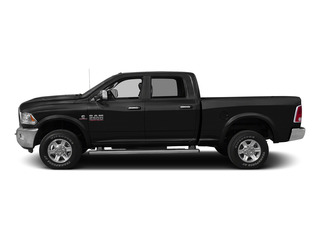 Black Clearcoat 2015 Ram Truck 2500 Pictures 2500 Crew Cab SLT 2WD photos side view