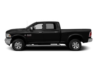 Brilliant Black Crystal Pearlcoat 2015 Ram Truck 2500 Pictures 2500 Crew Cab SLT 2WD photos side view