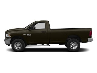 Dark Brown 2015 Ram Truck 2500 Pictures 2500 Regular Cab SLT 4WD photos side view