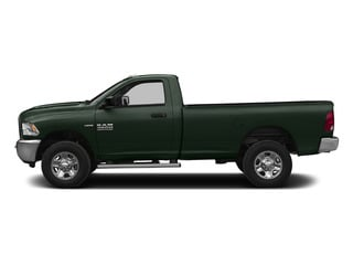 Black Forest Green Pearlcoat 2015 Ram Truck 2500 Pictures 2500 Regular Cab SLT 4WD photos side view