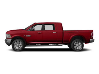 Bright Red 2015 Ram Truck 3500 Pictures 3500 Mega Cab SLT 4WD photos side view