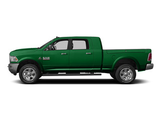 Bright Green 2015 Ram Truck 3500 Pictures 3500 Mega Cab SLT 4WD photos side view