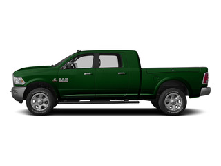 Tree Green 2015 Ram Truck 3500 Pictures 3500 Mega Cab SLT 4WD photos side view