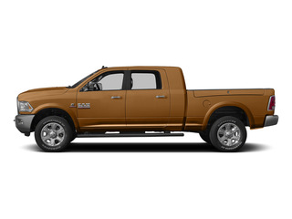 Power Tan 2015 Ram Truck 3500 Pictures 3500 Mega Cab SLT 4WD photos side view