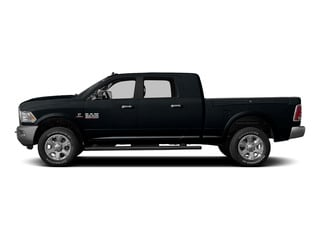 Maximum Steel Metallic Clearcoat 2015 Ram Truck 3500 Pictures 3500 Mega Cab Longhorn 4WD photos side view