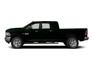 Black Forest Green Pearlcoat 2015 Ram Truck 3500 Pictures 3500 Mega Cab Longhorn 4WD photos side view