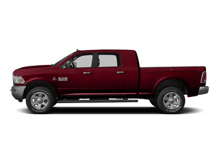 Deep Cherry Red Crystal Pearlcoat 2015 Ram Truck 3500 Pictures 3500 Mega Cab Longhorn 4WD photos side view