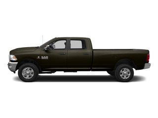 Dark Brown 2015 Ram Truck 3500 Pictures 3500 Crew Cab SLT 2WD photos side view