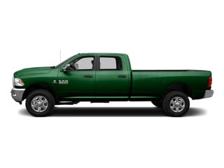 Tree Green 2015 Ram Truck 3500 Pictures 3500 Crew Cab SLT 2WD photos side view