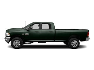 Black Forest Green Pearlcoat 2015 Ram Truck 3500 Pictures 3500 Crew Cab SLT 2WD photos side view