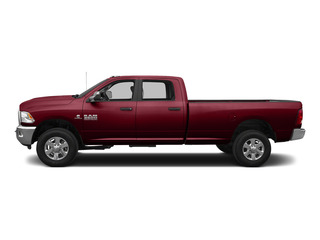 Deep Cherry Red Crystal Pearlcoat 2015 Ram Truck 3500 Pictures 3500 Crew Cab Laramie 4WD photos side view