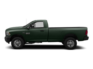 Black Forest Green Pearlcoat 2015 Ram Truck 3500 Pictures 3500 Regular Cab Tradesman 4WD photos side view