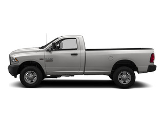 Bright Silver Metallic Clearcoat 2015 Ram Truck 3500 Pictures 3500 Regular Cab Tradesman 4WD photos side view