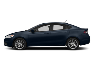 True Blue Pearlcoat 2015 Dodge Dart Pictures Dart Sedan 4D Limited I4 photos side view