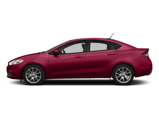 Passion Red Pearl Coat 2015 Dodge Dart Pictures Dart Sedan 4D Limited I4 photos side view