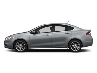 Billet Silver Metallic Clearcoat 2015 Dodge Dart Pictures Dart Sedan 4D Aero I4 Turbo photos side view