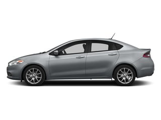 Billet Silver Metallic Clearcoat 2015 Dodge Dart Pictures Dart Sedan 4D Limited I4 photos side view