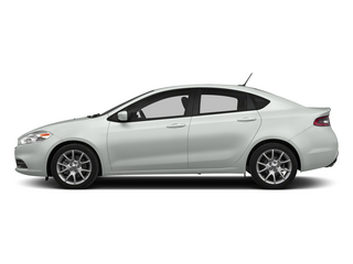 Bright White Clearcoat 2015 Dodge Dart Pictures Dart Sedan 4D Limited I4 photos side view