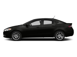 Pitch Black Clearcoat 2015 Dodge Dart Pictures Dart Sedan 4D Limited I4 photos side view