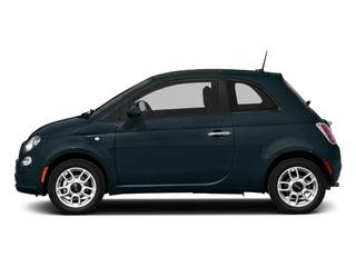 Verde Azzurro (Blue-Green) 2015 FIAT 500 Pictures 500 Hatchback 3D Sport I4 photos side view