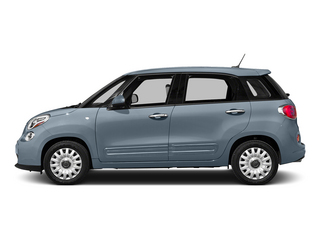Blu Chiaro (Light Blue) 2015 FIAT 500L Pictures 500L Hatchback 5D L Easy I4 Turbo photos side view